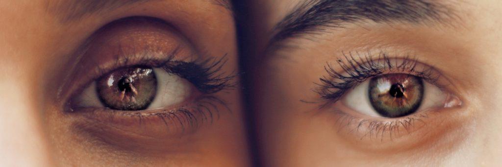 Augenkontakt Paar